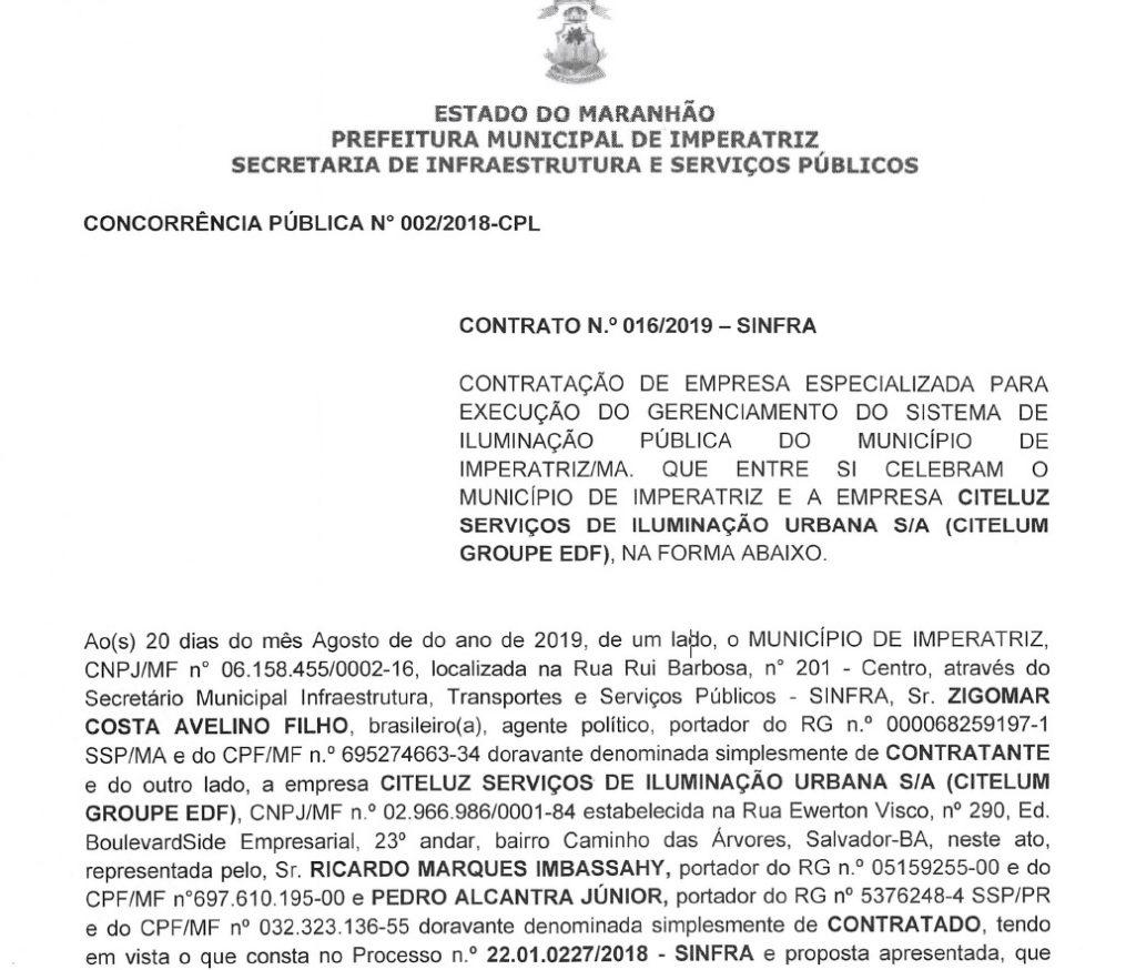 cite-1024x874 Prefeitura de Imperatriz volta a fechar contrato com a CITELUZ