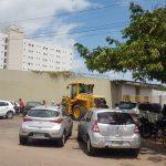 Trabalhadores bloqueiam entrada de secretaria em São Luís por falta de pagamento