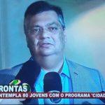 Após polêmica entre Bolsonaro e Datena, Flávio Dino começa anunciar no Brasil Urgente