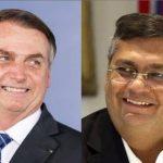 Flávio Dino perde de lavada para Bolsonaro em pesquisa promovida por site no Maranhão