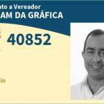 Filiado ao PSB e dono de uma gráfica em Timon, já faturou mais de R$ 5 milhões com o governo do MA
