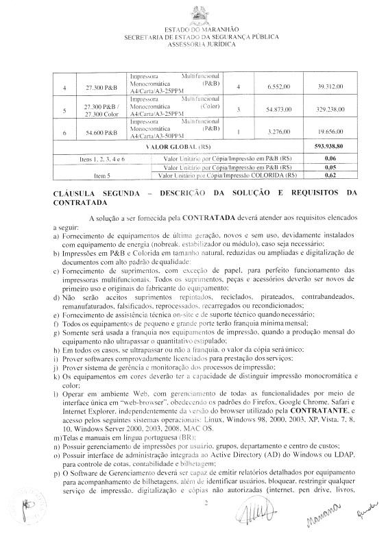 ssp-2 Com dispensa de licitação, SSP gasta mais de meio milhão com impressoras