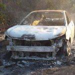 Carro recém-lançado da Chevrolet pega fogo no interior do Maranhão