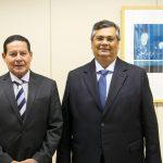 Vice-presidente Mourão vem ao Maranhão se encontrar com Flávio Dino