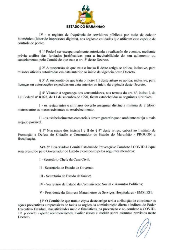 02-2-718x1024 Flávio Dino edita decreto de combate ao Coronavírus