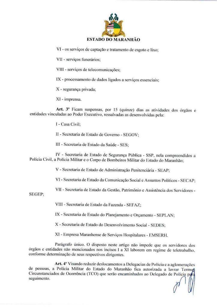 03-2-724x1024 Flávio Dino anuncia o fechamento do comercio no Maranhão