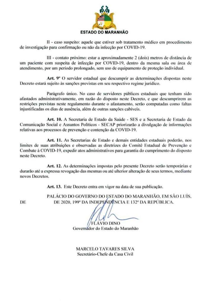 04-1-718x1024 Flávio Dino edita decreto de combate ao Coronavírus