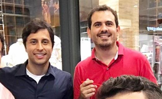 Duarte Júnior e Thiago Rios