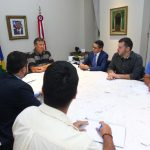 Governador Flávio Dino reúne equipe de Governo para tratar sobre Coronavírus