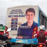 Propaganda de Duarte Júnior ainda é veiculada nas ruas de São Luís
