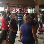 Cadê o lockdown? População lota restaurante Cabana do Sol atrás de comida em São Luís