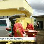 Jornal Hoje: Mais mortes por falta de respiradores e leitos de UTI no Maranhão