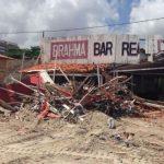 DPE-MA move ação para indenizar comerciantes que tiveram bares derrubados na praia do Olho D'água