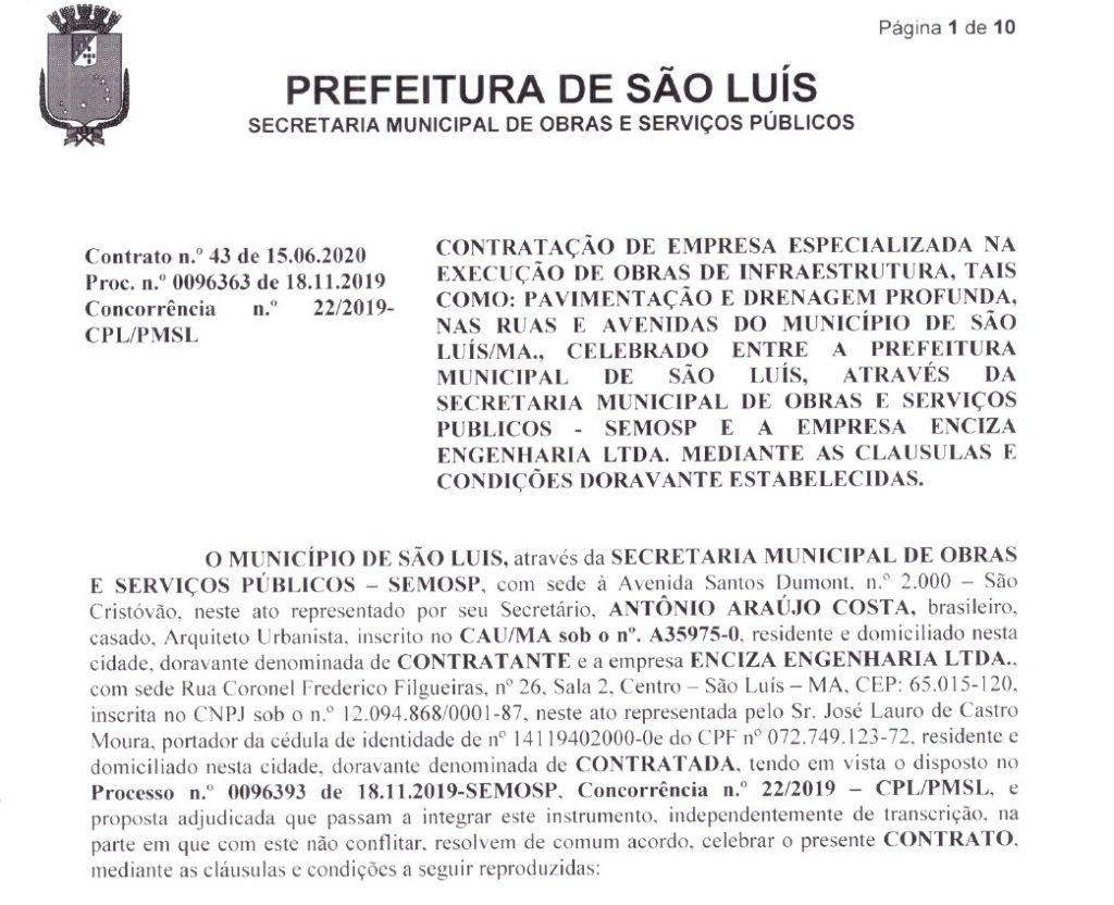 SEMOSPK-1024x832 Empresário com diversos problemas judiciais ganha contrato de R$ 74 milhões na SEMOSP em São Luís