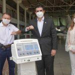 Ilson Mateus doa respiradores ao governo do Pará