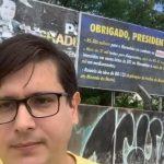 Pré-candidato à vereador em São Luís coloca outdoor em agradecimento a Bolsonaro