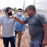 Osmar Filho anuncia serviços de asfaltamento às comunidades Recanto Canaã e Cabral Miranda