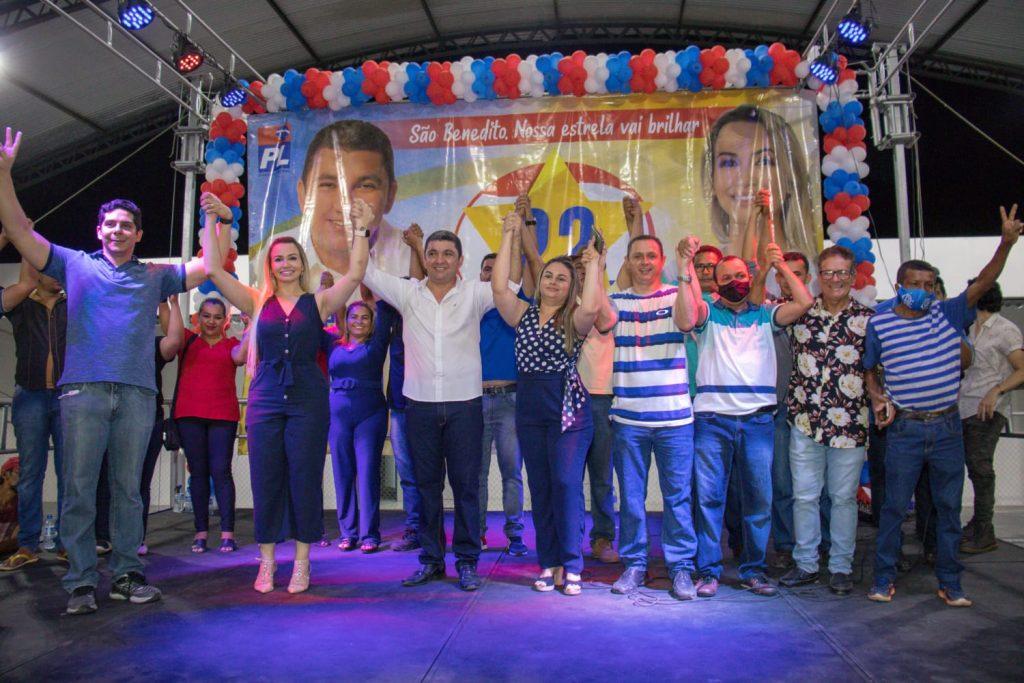 45e656bc-448d-4517-9ec0-766e2b71d953-1024x683 Professor Joelson e Rosi são confirmados candidatos do PL em São Benedito do Rio Preto