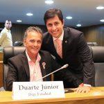 Com medo de atrapalhar o filho, Duarte Pai desiste de candidatura em Paço do Lumiar