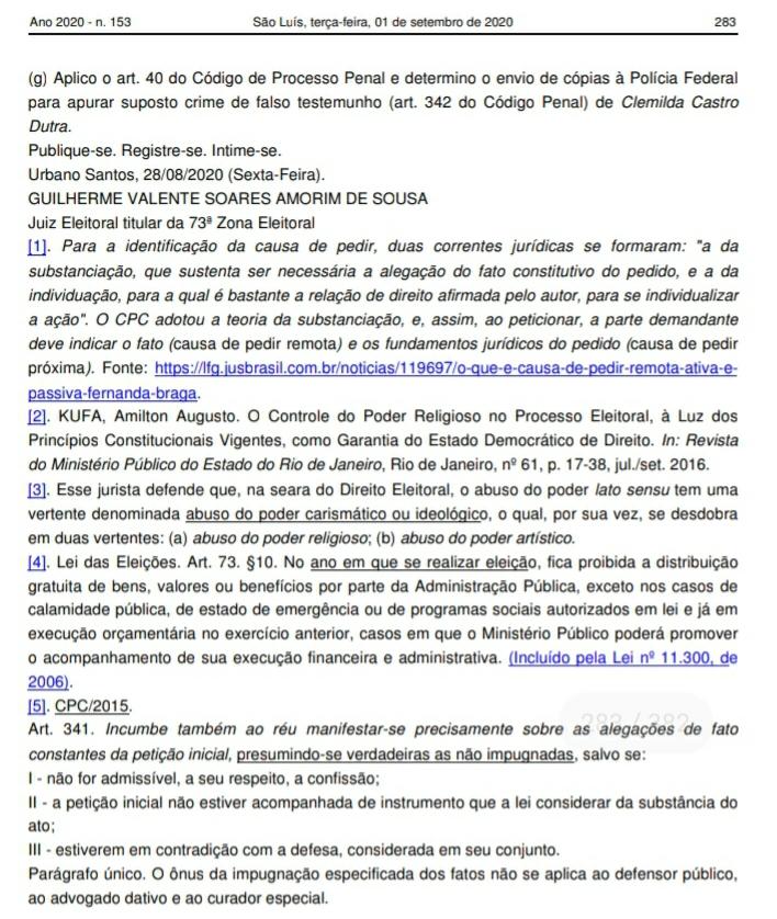 Screenshot_20200902-151918_Drive Urgente! Juiz cassa o mandato da prefeita de Urbano Santos, Iracema Vale