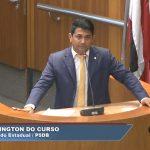 Veja o emocionante discurso de Wellington após ter seu nome retirado das eleições de São Luís