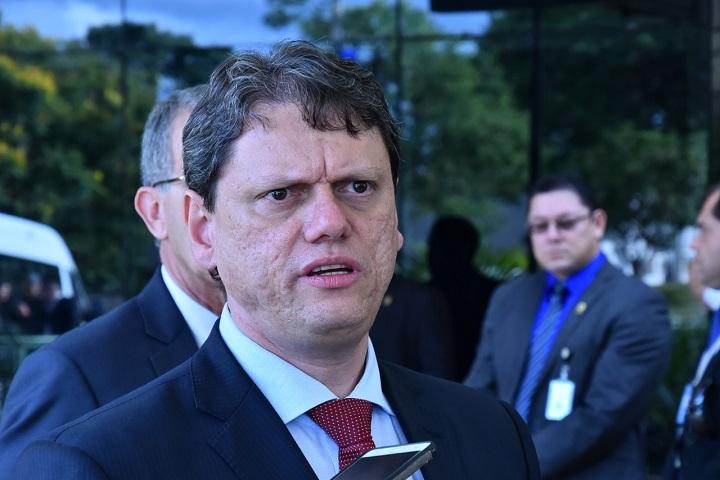 Ministro Tarcísio de Freitas, Ministério de Infraestrutura
