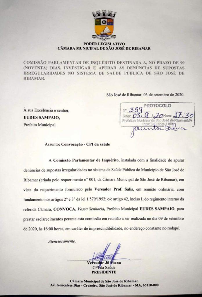 cf2037b4-c59c-46f3-8883-6e8500f373a1-696x1024 Eudes Sampaio é convocado para depor na CPI da saúde em Ribamar