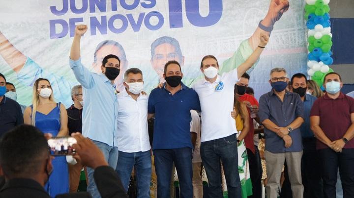 prb-convenção-DSC03769 Convenção oficializa os nomes de Fábio Gentil e Paulo Marinho Júnior em Caxias