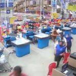 Vídeo: veja o exato momento que prateleiras de um supermercado do Grupo Mateus desaba em cima de clientes em São Luís