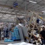 Erro ao trocar uma prateleira do lugar teria causado o acidente em supermercado do Grupo Mateus em São Luís
