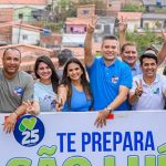 """""""Disposição para trabalhar por São Luís não irá faltar"""", diz Osmar durante carreata de Neto, no Itaqui-Bacanga"""