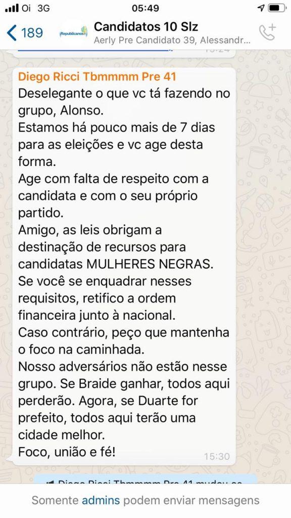 15226650-afe1-4f7f-aff3-aaabe8b5c70b-576x1024 Crise se instaura dentro do partido Republicanos em São Luís