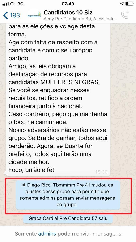 4f905f55-e02c-4210-9ade-c5e98d990a0f Crise se instaura dentro do partido Republicanos em São Luís