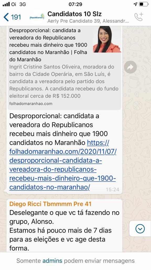 bebb3845-64a1-49cd-bf92-d8aac0049d65 Crise se instaura dentro do partido Republicanos em São Luís