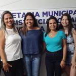 Em Mirador, Domingas Cabral se reúne com servidores da Assistência Social