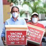 Gestão de Fábio Gentil, em Caxias, lidera o ranking de aplicação de vacinas no MA