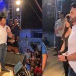 Inácio Melo, marido da senadora Eliziane Gama aparece em show de forró sem máscara causando aglomeração