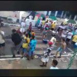 """Vídeo mostra PM dando uma """"voadora"""" em festa no interior do Maranhão"""