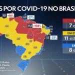 Alerta! Maranhão registra alta 103% no número de mortes em seu quarto dia seguido