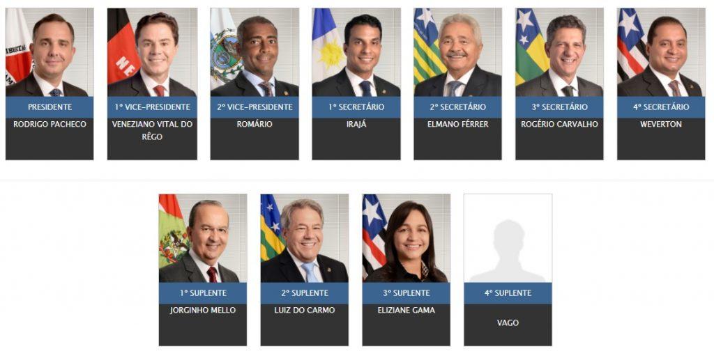 Mesa-diretora-do-Senado-1024x504 Eliziane Gama e Weverton Rocha ganham cargos na mesa da diretora do Senado