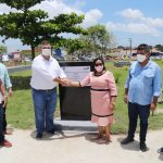 No Maranhão, Flávio Dino ignora à pandemia ao participar de inauguração de praça em meio a um decreto de medidas restritivas