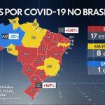 Em 24 horas, Maranhão registra alta de 128% no aumento do número de mortes; março já contabiliza 149 óbitos por Covid-19