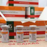 Maranhão recebe mais de 116.800 doses de vacina do Butantan