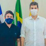 Osmar Filho e Eduardo Braide dialogam sobre ações de combate a pandemia em São Luís
