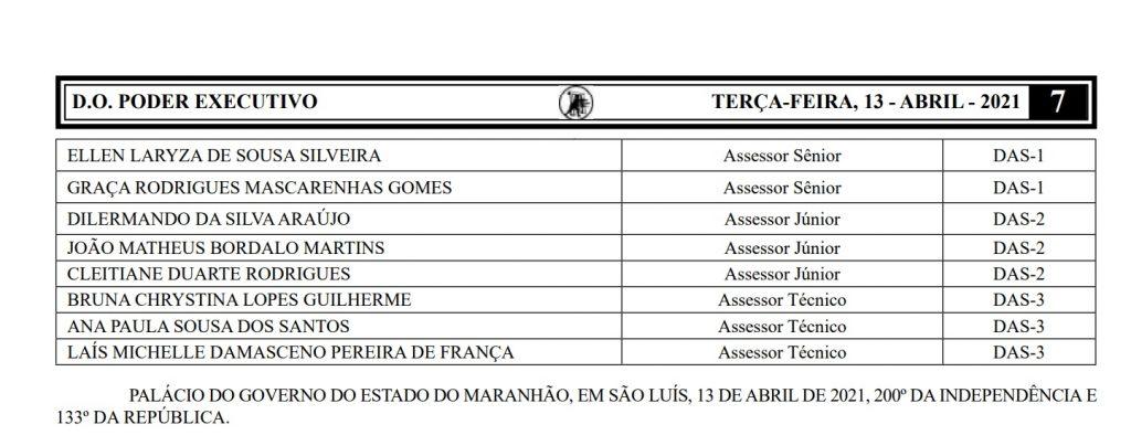ELLEN-LARYZA-DE-SOUSA-SILVEIRA-PACO-DO-LUMIAR-1-1024x404 Procon, no Maranhão, nomeia suplentes de vereadores da última eleição; candidatos são do mesmo partido de Duarte Júnior