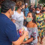 Osmar Filho e lideranças políticas seguem com doações de cestas básicas para amenizar impactos da pandemia