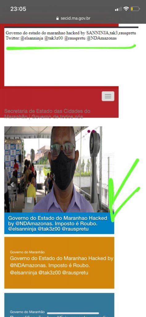 e76d9377-fd54-4407-aaed-7793bddc5be6-1-473x1024 Sites do governo do Maranhão são invadidos em ação de hackers