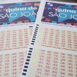 Aposta de Pinheiro (MA) leva o prêmio de R$ 25 milhões na Quina de São João