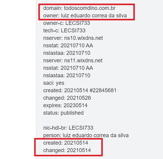 Dominio Site de apoio à campanha de Flávio Dino foi criado por funcionário do governo do MA