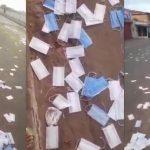 No Maranhão, milhares de máscaras aparecem no chão após operação da PF; veja o vídeo